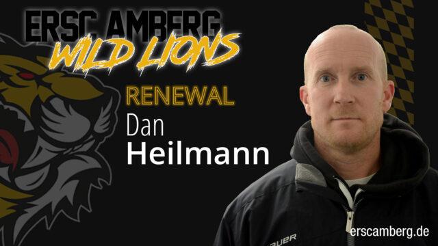 Dan Heilman gibt weiter den Takt vor